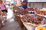 fruit stall on the street