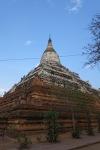 the Shwesandaw pagoda.